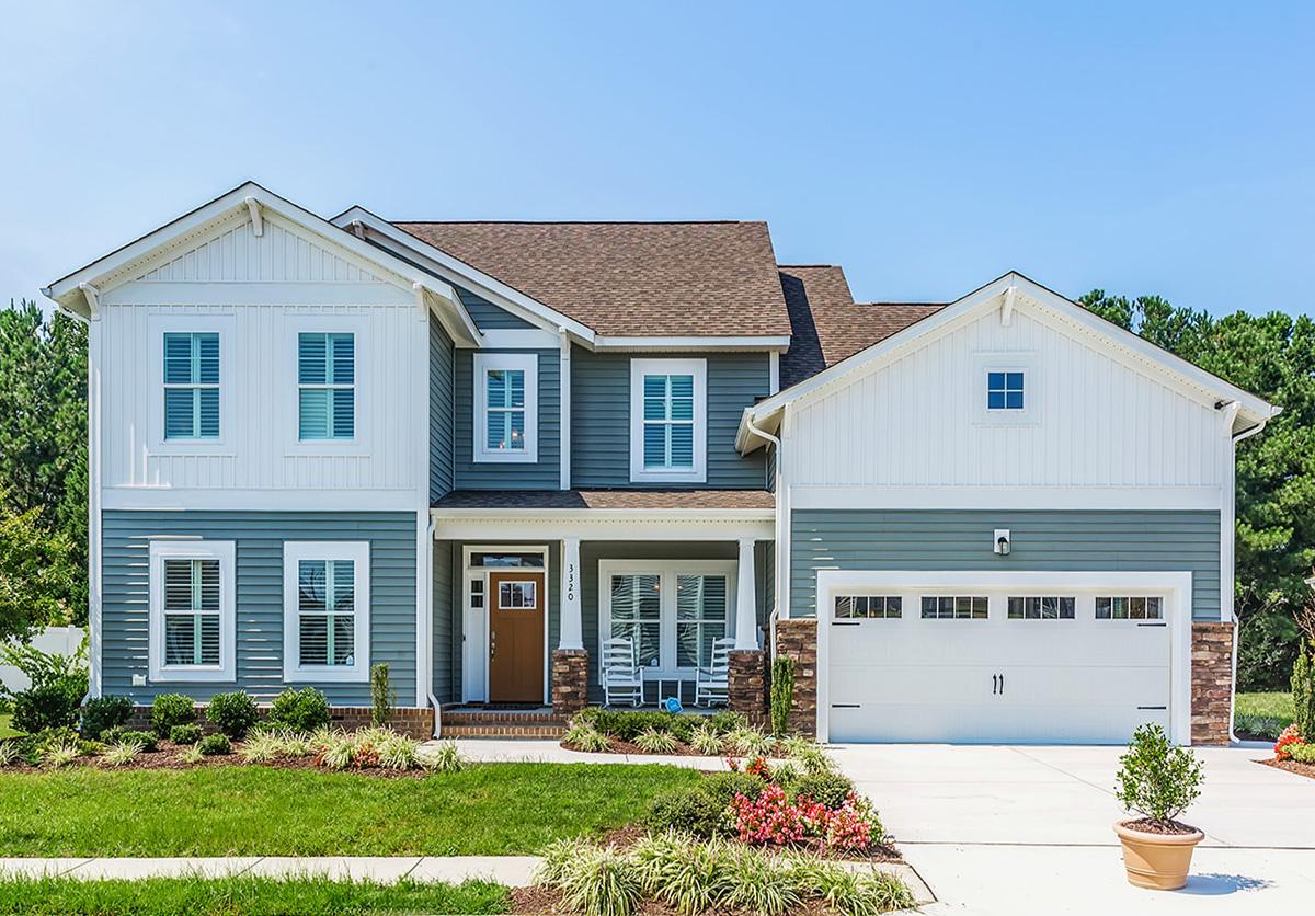 Napolitano Homes - western branch reserve community