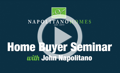 Napolitano Homes - home buying seminar - intro